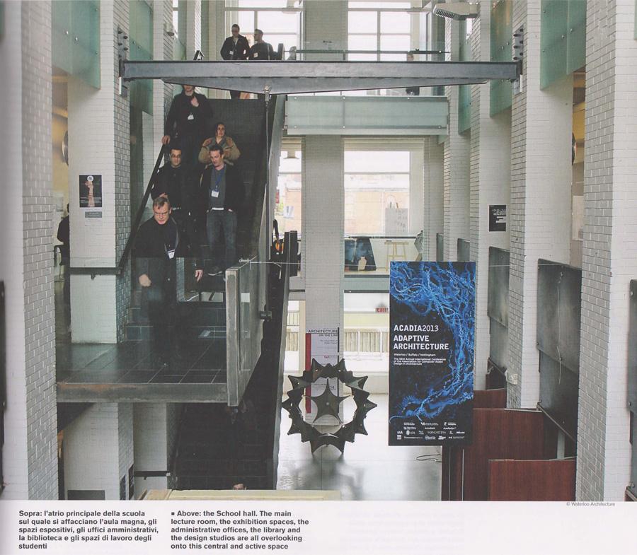 Re:POST University of Waterloo School of Architecture in Domus - Bridge