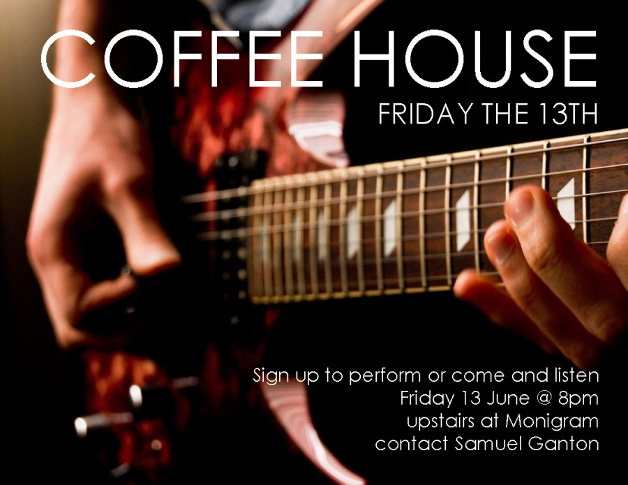 Coffee House – Friday June 13