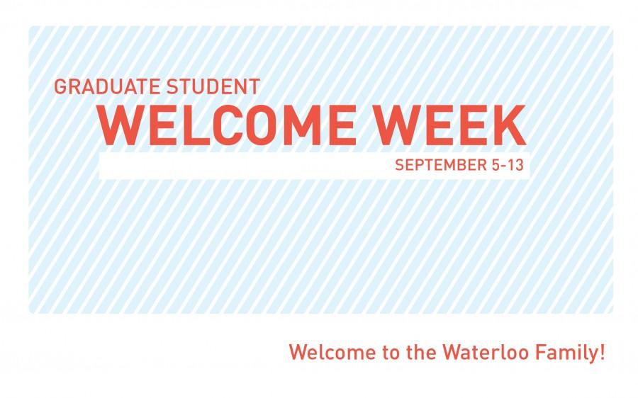 Graduate Student WELCOME WEEK