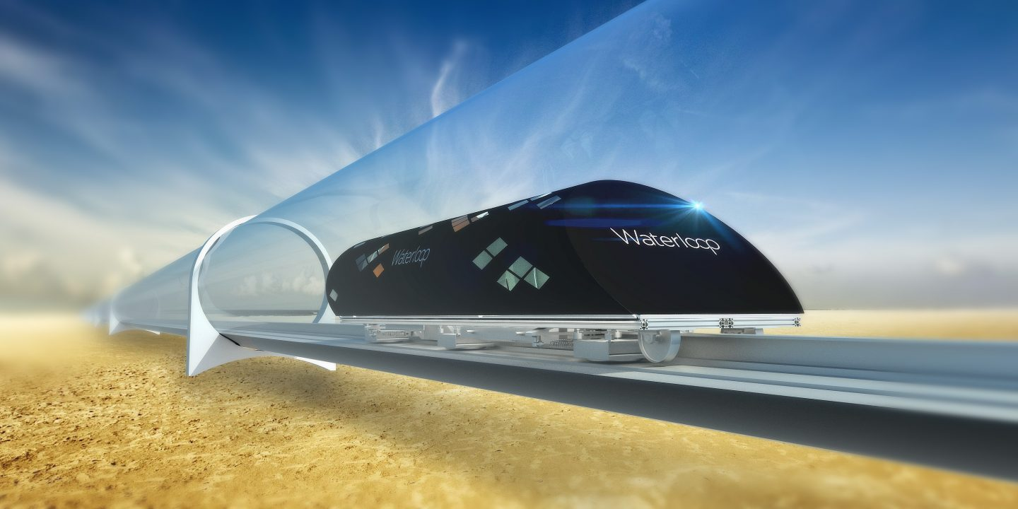 UWaterloo Team Finalists in SpaceX Hyperloop Design Competition