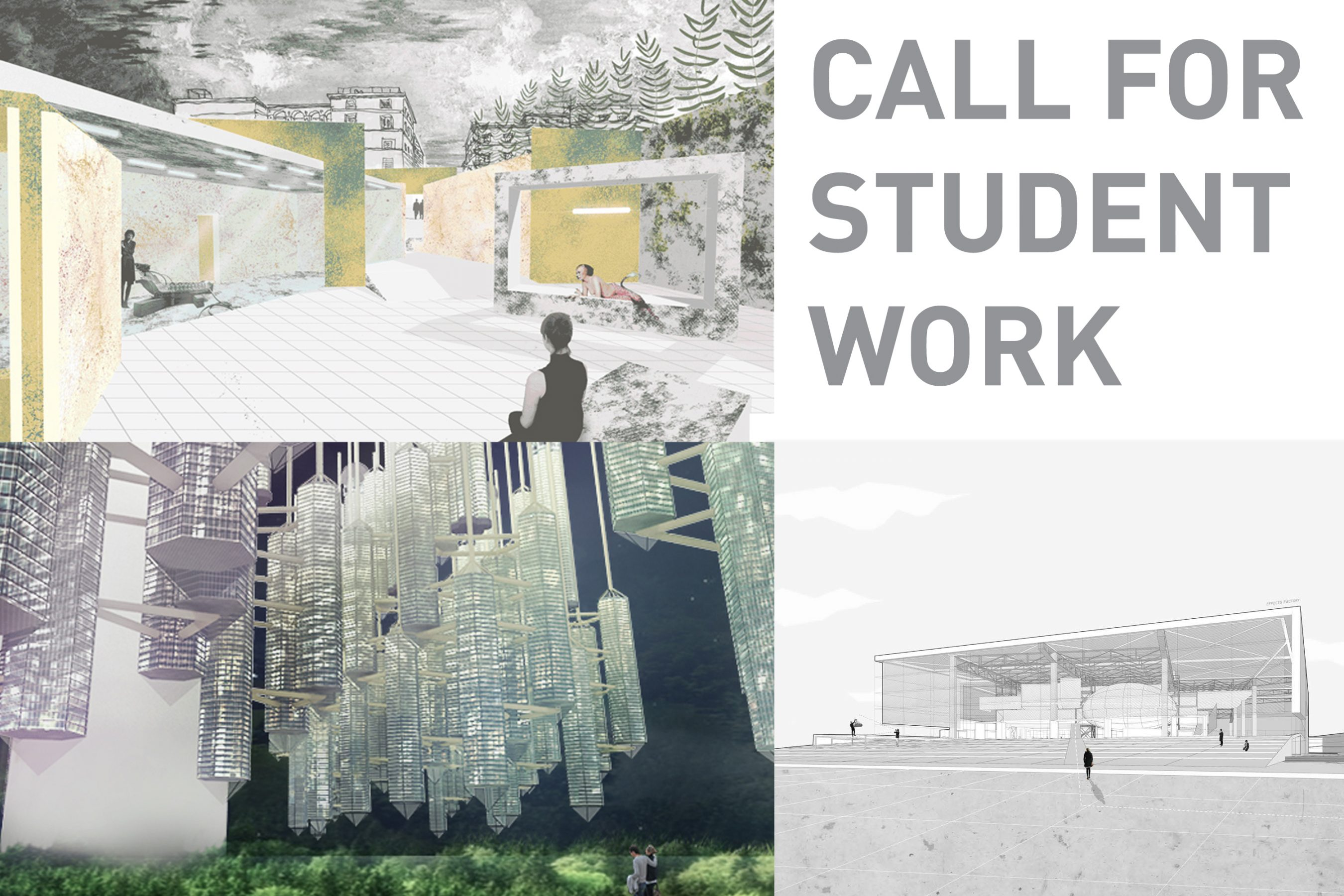 CALL FOR STUDENT WORK: SPRING 2016