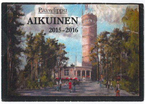 Pyynikki Tower Ticket (front)