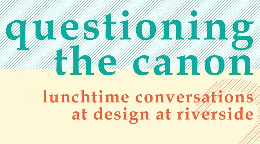 Questioning the Canon: Lunchtime Conversations