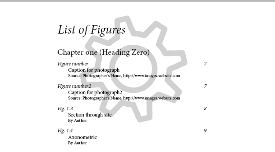 Save us from the list of figures! Automating thesis drugery